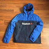 Демисезонная куртка. Анорак. Cиняя и электрик/ XS - XL, фото 5