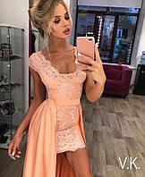 Превосходное вечернее платье-двойка от 42 до 54 размера РАЗНЫЕ ЦВЕТА