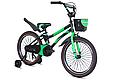 """Детский велосипед HAMMER S500 20"""" Черный/Зеленый, фото 2"""