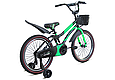 """Детский велосипед HAMMER S500 20"""" Черный/Зеленый, фото 3"""