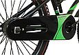 """Детский велосипед HAMMER S500 20"""" Черный/Зеленый, фото 6"""