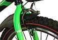 """Детский велосипед HAMMER S500 20"""" Черный/Зеленый, фото 4"""