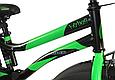 """Детский велосипед HAMMER S500 20"""" Черный/Зеленый, фото 5"""