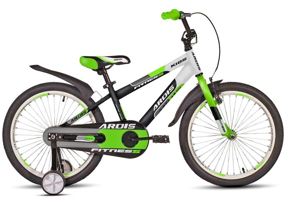 """Детский велосипед Ardis FITNESS R20"""" (Черно-салатовый)"""