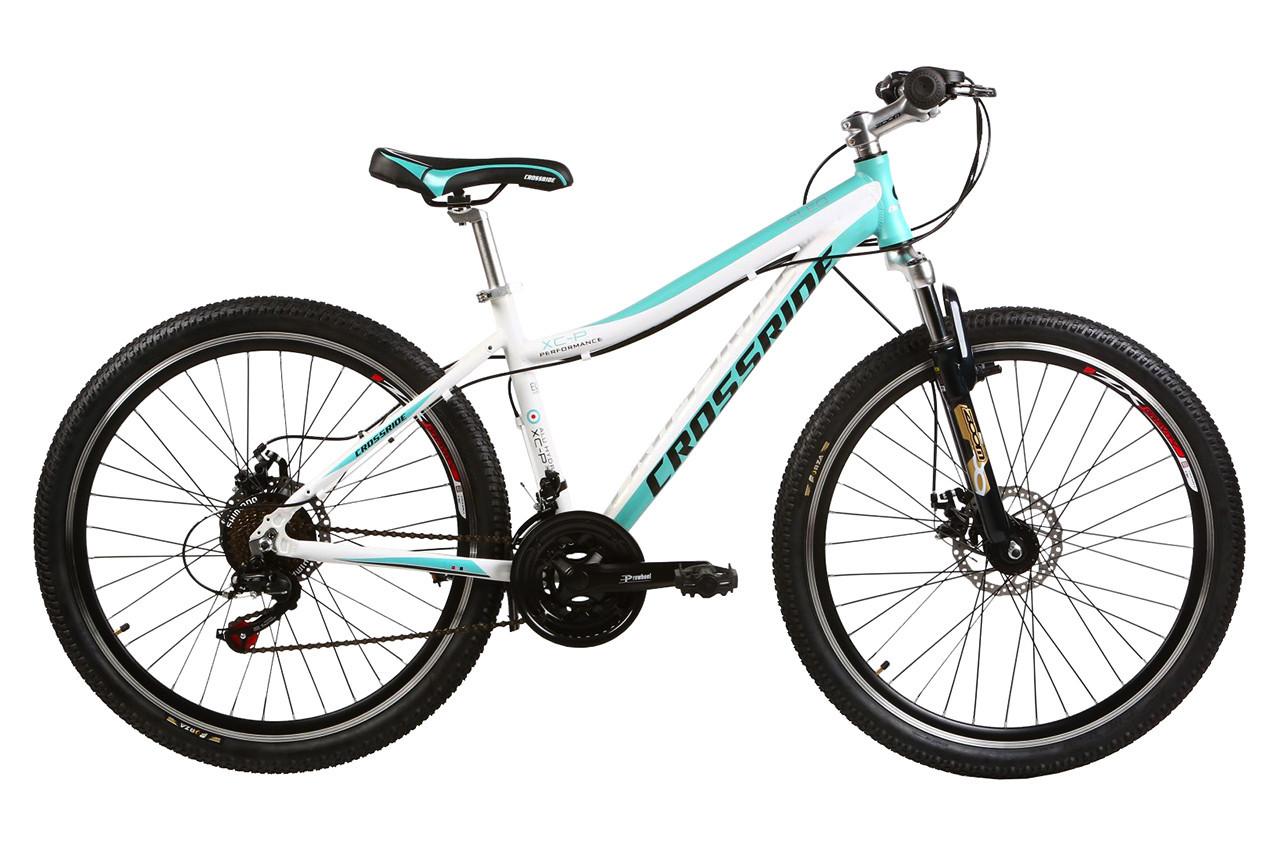 """Подростковый велосипед ARDIS CLEO MTB 24""""  Белый/Бирюзовый"""