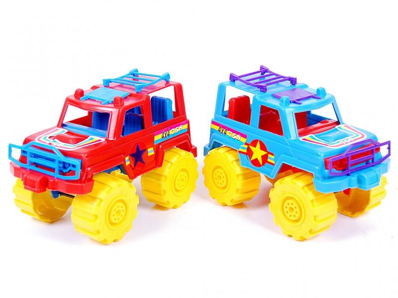 Машина Джип, мікс кольорів, 21х12х13,5см, 05-501 Кіндервей