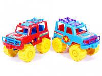 Машина Джип, мікс кольорів, 21х12х13,5см, 05-501 Кіндервей, фото 1