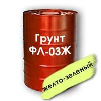 Грунт ФЛ-03 Ж (желтый) для металов и дерева