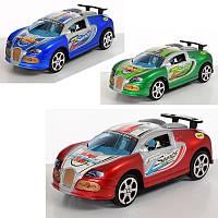 Машинка 865 інерційна, 3 кольори, в кульку, 13-23-5,5 см