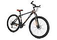 """Горный велосипед TopRider 611 29""""  Черный/Оранжевый, фото 3"""