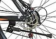 """Горный велосипед TopRider 611 29""""  Черный/Оранжевый, фото 7"""