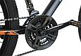 """Горный велосипед TopRider 611 29""""  Черный/Оранжевый, фото 6"""