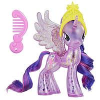 My Little Pony Твайлайт Спаркл Искорка с блестками E2562 E0185 Princess Twilight Sparkle Glitter Celebration