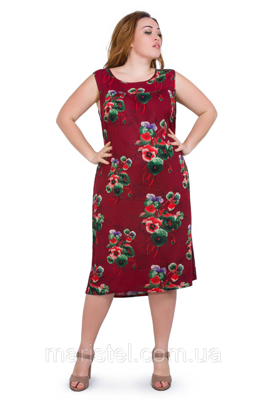 Женское летнее платье 032-34