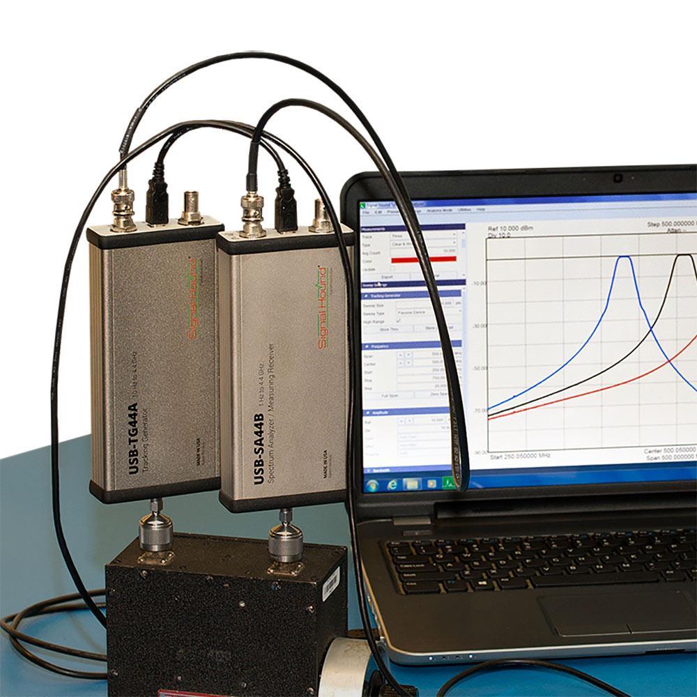 Скалярный сетевой анализатор Signal Hound 4,4 ГГц с соединителем для RL