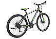 """Горный велосипед TopRider 611 29""""  Черный/Салатовый, фото 2"""