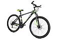 """Горный велосипед TopRider 611 29""""  Черный/Салатовый, фото 3"""