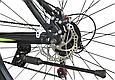 """Горный велосипед TopRider 611 29""""  Черный/Салатовый, фото 7"""