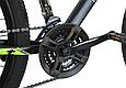 """Горный велосипед TopRider 611 29""""  Черный/Салатовый, фото 6"""