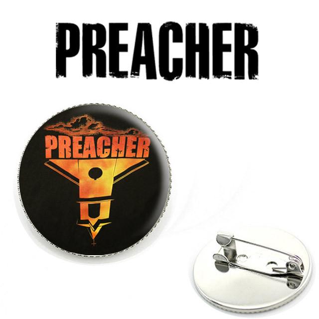 Значок Preacher с Церковью