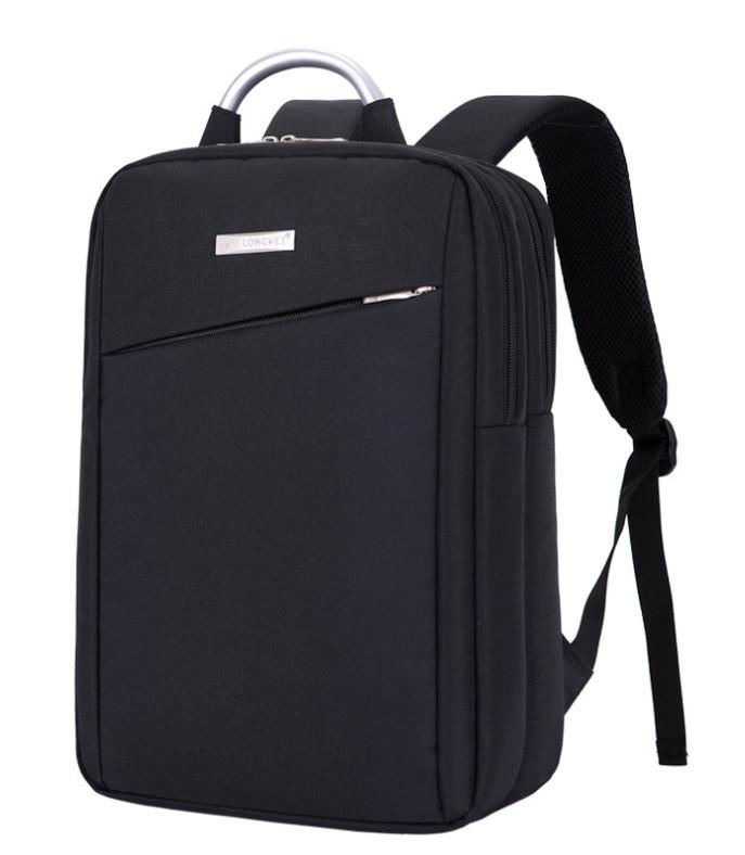 """Рюкзак противоударный для ноутбука 15,6"""", черный цвет ( код: IBN003B )"""