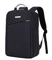 """Рюкзак протиударний для ноутбука 15,6"""", чорний колір ( код: IBN003B ), фото 1"""