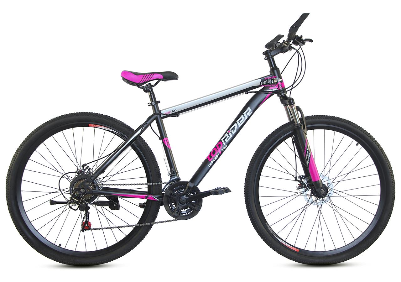 """Горный велосипед TopRider 611 29""""  Черный / Фиолетовый"""