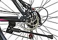 """Горный велосипед TopRider 611 29""""  Черный / Фиолетовый, фото 7"""