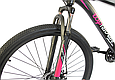 """Горный велосипед TopRider 611 29""""  Черный / Фиолетовый, фото 4"""