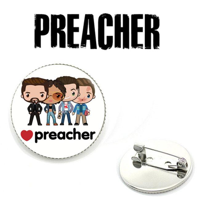 Значок Preacher с героями сериала