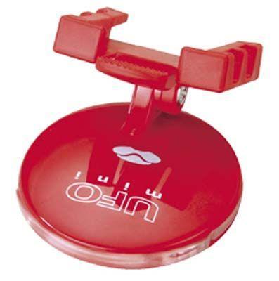 Мигалка задняя Allay UFO Mini 2 красных диода, 2 функц., красный. AL-01R (GT)