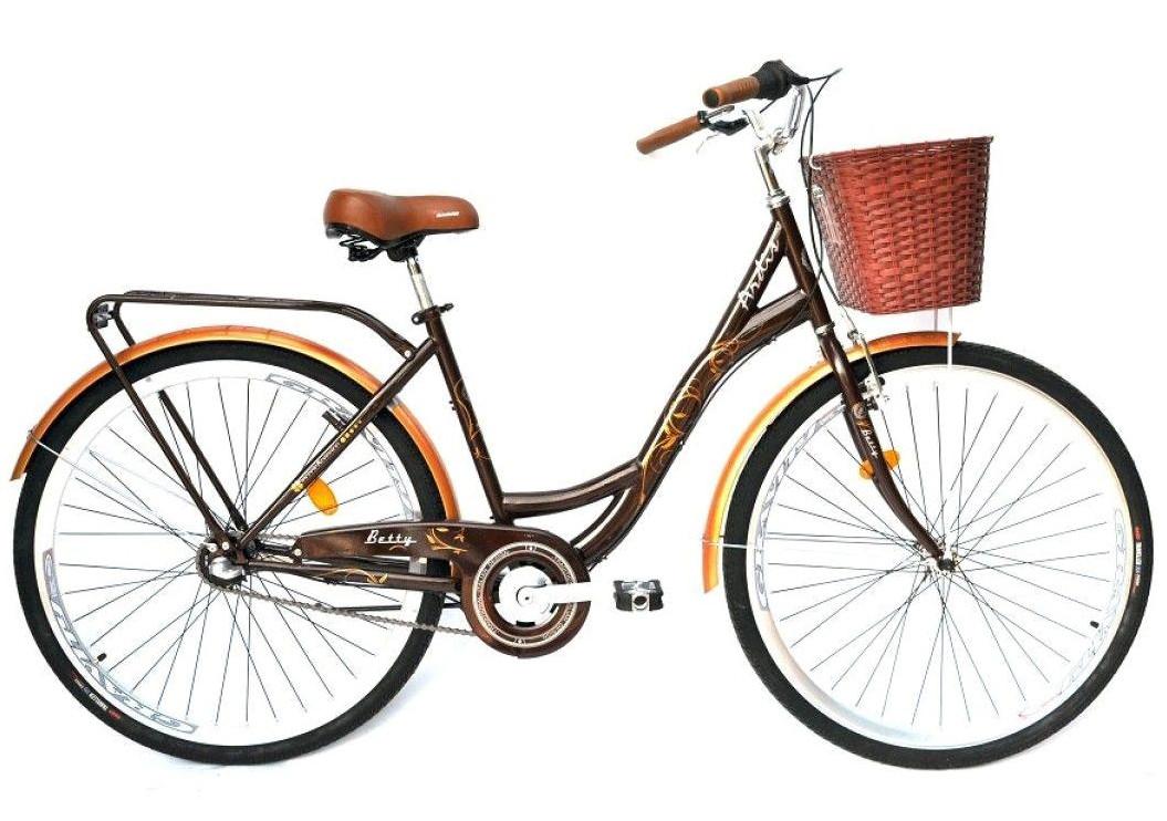 """Городской велосипед ARDIS BETTY 26"""" Коричневый"""