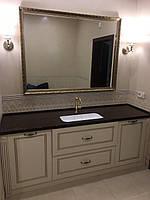 Напольная тумба в ванную в классическом стиле