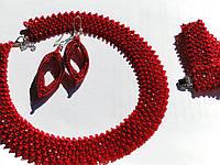 Украшение - ожерелье, браслет и серьги, фото 1