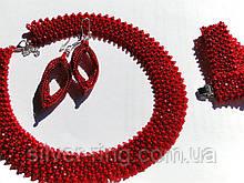 Прикраса - намисто, браслет і сережки