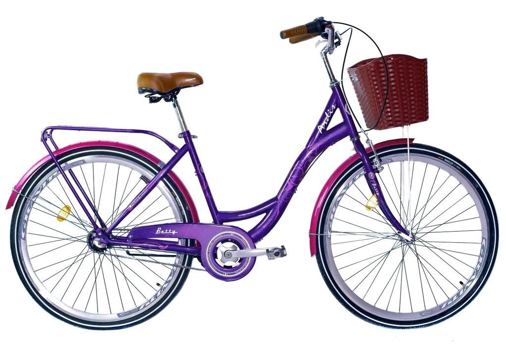 """Городской велосипед ARDIS BETTY 26"""" Фиолетовый"""