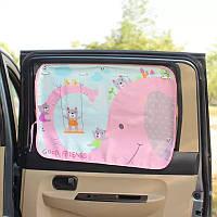 Солнцезащитная шторка в автомобиль 70*50