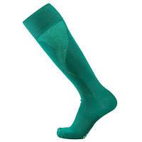 Футбольные гетры Europaw, зеленые, со вставкой сетки, фото 1