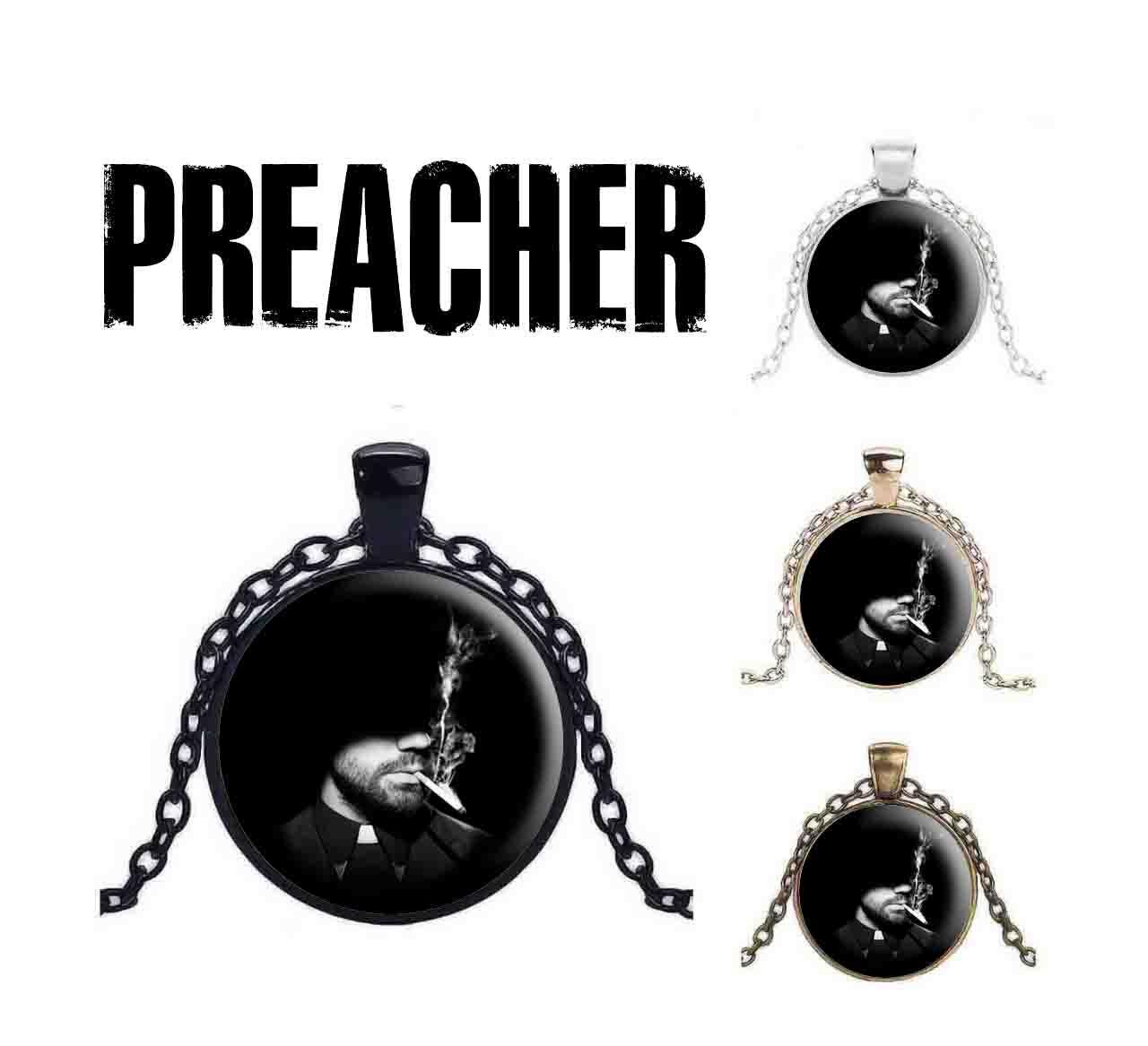 Кулон Preacher с Джесси чёрного цвета