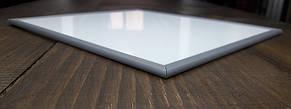 Окантовочный   Торцевой пластиковый профиль для плоских материалов толщиной 2мм. Цвет белый, фото 3
