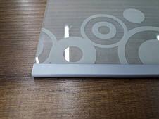 Окантовочный   Торцевой пластиковый профиль для плоских материалов толщиной 4мм. Цвет серый, фото 2