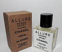 Тестер Туалетная вода CHANEL Allure homme Sport 50 мл