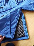 Спортивная демисезонная куртка унисекс. Электрик. Анорак. XS - XL, фото 6