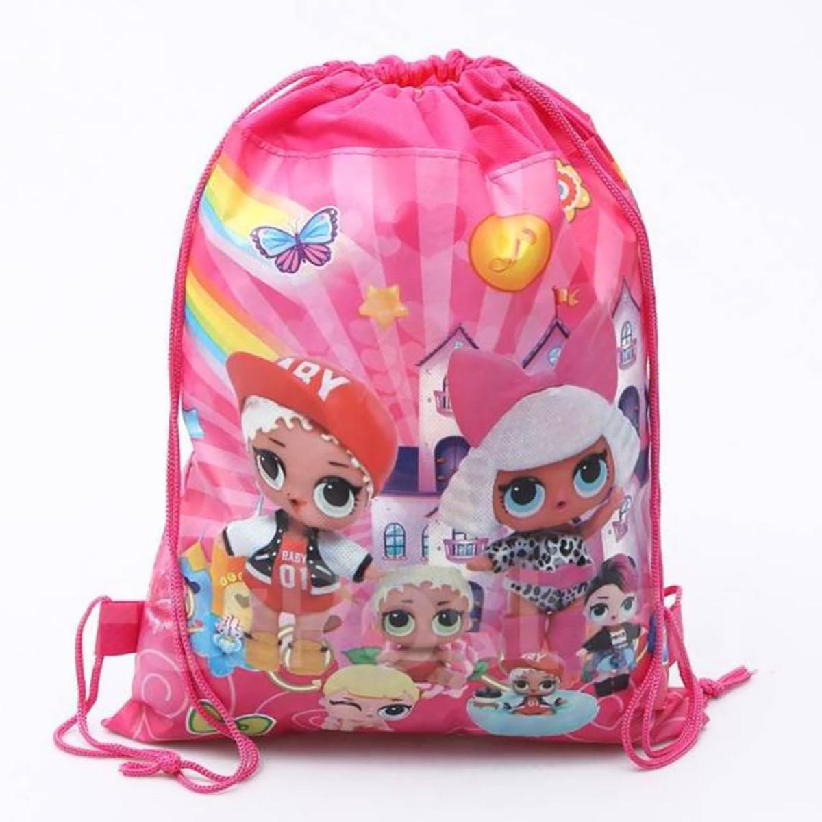 b314cdff7723 Рюкзак-мешок для игрушек Кукол ЛОЛ, обуви, одежды Подарочная Сумка пупси LOL