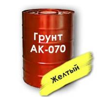 Грунт АК-070 противокоррозионная, водостойкая (судостроительная)