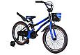 """Детский велосипед HAMMER S500 20"""" Черный/Синий, фото 2"""