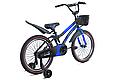 """Детский велосипед HAMMER S500 20"""" Черный/Синий, фото 3"""