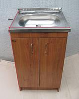 Кухонная мойка 50х50 с тумбой (комплект), фото 1