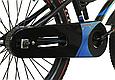 """Детский велосипед HAMMER S500 20"""" Черный/Синий, фото 5"""