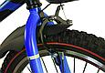 """Детский велосипед HAMMER S500 20"""" Черный/Синий, фото 7"""